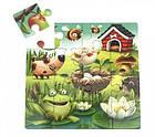 Пазлы 3в1 Puzzlika 12985 Любимые животные 50эл., фото 7