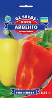Перец Айвенго сладкий великолепный раннеспелый продуктивный сочный очень ароматный, упаковка 0,25 г