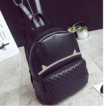 Большой городской рюкзак с рожками, фото 3