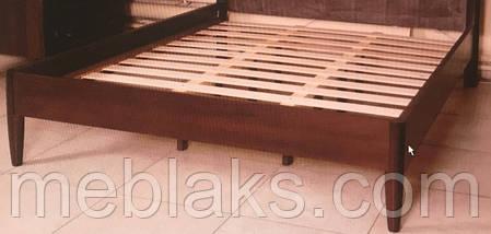 """Кровать деревянная """"Севилья"""" орех Модуль Люкс, фото 3"""