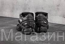 Женские кроссовки Adidas Ozweego 2 Raf Simons Black Адидас Раф Симонс Озвиго черные, фото 3