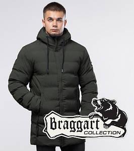 Куртка молодежная зимняя 25080 темно-зеленая