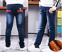 Теплые зимние джинсы для мальчика