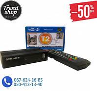 Цифровой ресивер DVB-T2 megogo, Тюнер Т2 - DVB-T2 + HD плеер Цифровая приставка, ресивер, HDMI