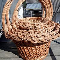 Набор корзин из лозы 5 шт , фото 1
