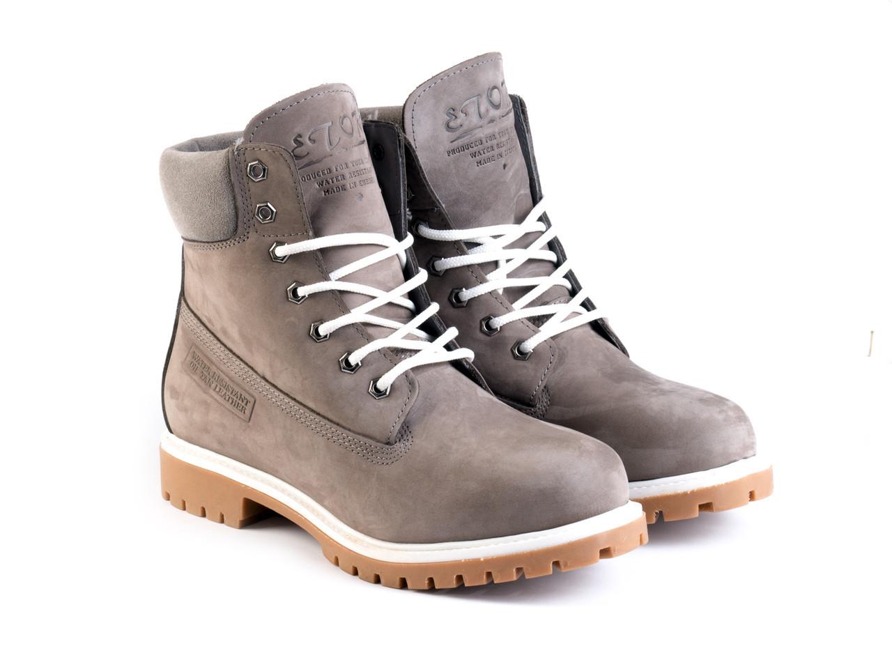Ботинки Etor 9916-2298-850-0222 40 серые