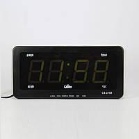 Электронные настольные часы Caixing CX-2159 LED Черный