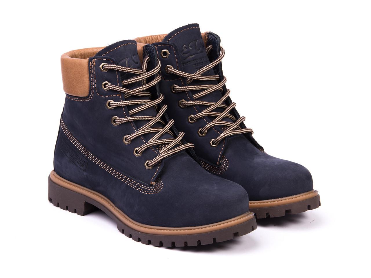 Ботинки Etor 9916-2298 40 синие