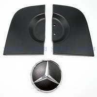 Накладки задней двери + значок  Mercedes Benz Sprinter