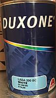 Duxone Автоэмаль базовая DX 200 BC (белая). 1л.