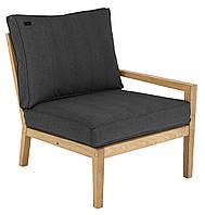 Правый модуль деревянное кресло Roble с подушкой, Alexander Rose