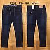 Джинсы утепленные для мальчика оптом, F&D, 134-164 см,  № F257