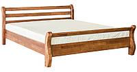 Ліжко двоспальне в спальню з дерева 1600 Афіна Мебель Сервіс