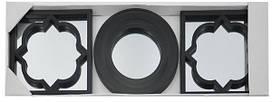 Набор зеркал EVG BIN 1124417 BLACK set 3
