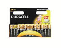 Батарейка Duracell LR06 MN1500 12 штук упаковка на оригинал