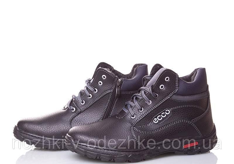 Мужские зимние спортивные ботинки на шнурках молнии в стиле Ekko 40 р 26 0abfdd2dcd585