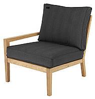 Левый модуль деревянное кресло Roble с подушкой, Alexander Rose