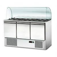 Стол холодильный SAS147OG#GSS147 GGM gastro (Германия)