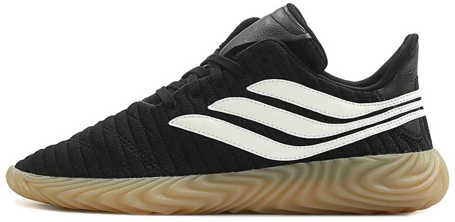 """Мужскиекроссовки adidas Sobakov """"Black/White"""" (Адидас) черные"""