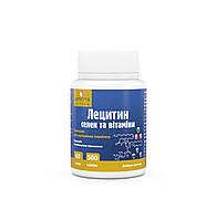 Лецитин селен и витамины 60кап. по 0,5г. для улучшения обменных процессов в мозге