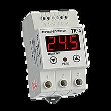 Терморегулятор цифр DigiTOP TK-4k 16A (0...+999 С)