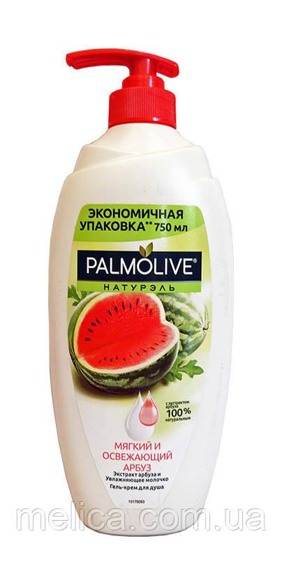 Гель-крем для душа Palmolive Натурэль Мягкий и освежающий Арбуз - 750 мл.