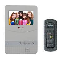 Комплект домофона PoliceCam PC-431 W (PC-201)