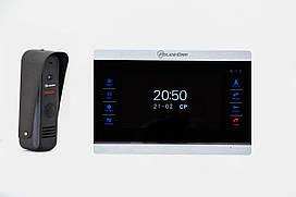 Комплект домофона PoliceCam PC-704R (PC-202) black