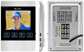 Кольоровий відеодомофон PC-406R PoliceCam