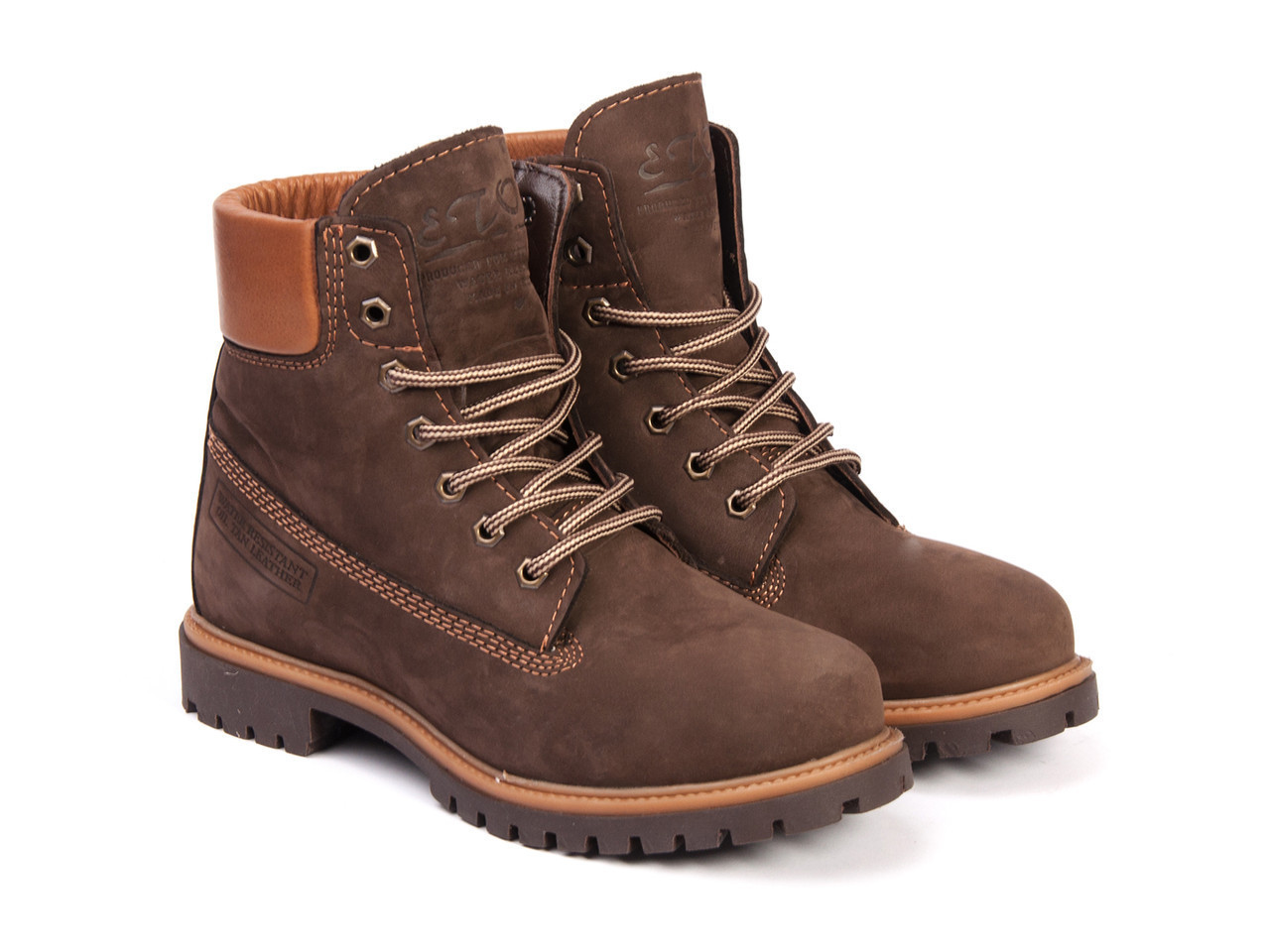 Черевики Etor 9916-2298-02 42 коричневі