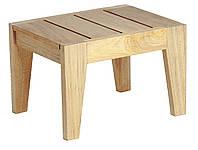 Приставной деревянный столик к шезлонгу Sunbed, уличная, пляжная мебель