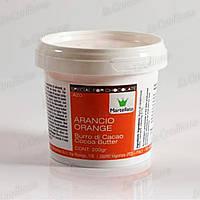 Краситель пищевой на основе какао-масла Martellato LCB201 (Оранжевый)