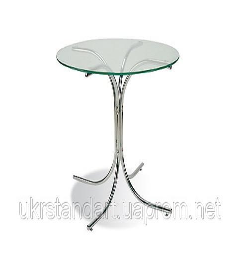Высокий столик Розана Хокер 110 хром(основание)