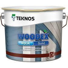 TEKNOS woodex aqua solid 9л. база3