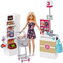Игровой набор Барби в супермаркете