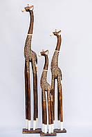 Статуэтка деревянная Жираф  120 см
