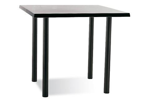 Стол для кафе КАЯ блэк (основание) Kaja chrom