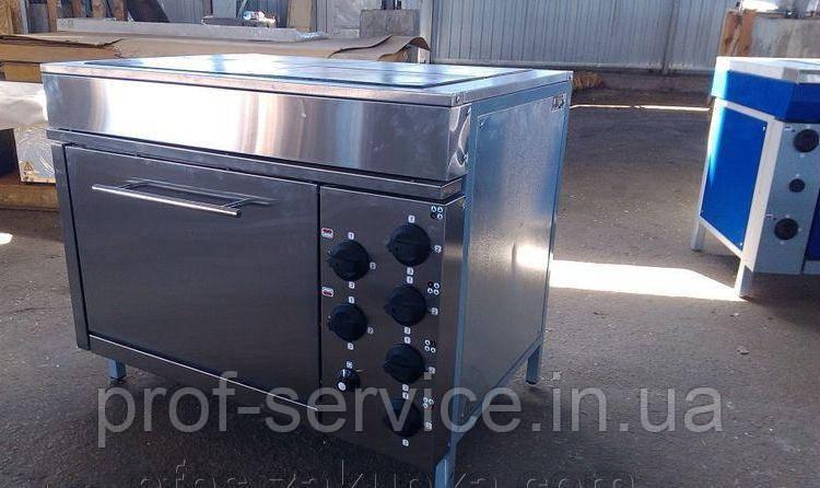 Плита четырехконфорочная с духовкой ЭПК-4ШБ эталон