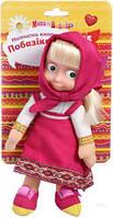 Лялька інтерактивна, Маша та Ведмідь, українське озвучення, 15 фраз, 3 пісні, 23 см MM-8025U