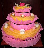 Торт из полотенец на заказ