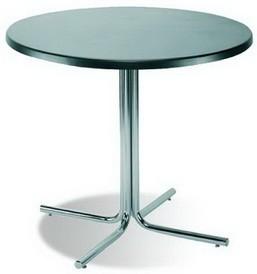 Стол для кафе Karina chrome основание Карина хром