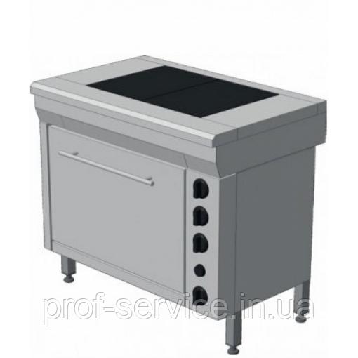 Плита электрическая промышленная ЭПК-3ШП стандарт плавная регулировка