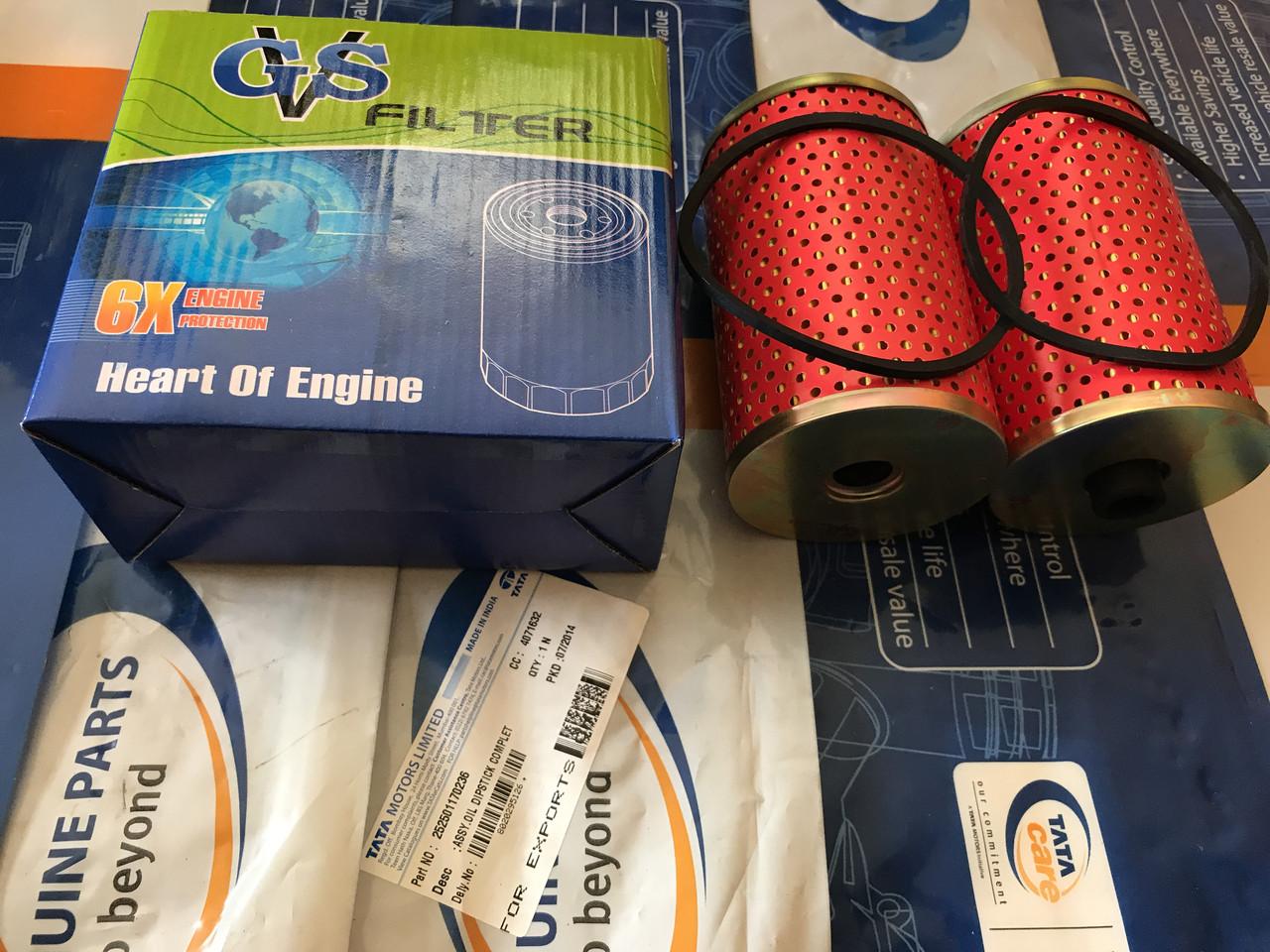 Фильтр топлива Е2 Е3 комплект 2 шт. ТАТА и Эталон