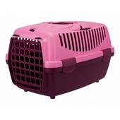 Переноска TRIXIE Capri 2 для животных до 8кг, 55х37х34, фиолетовая/розовая