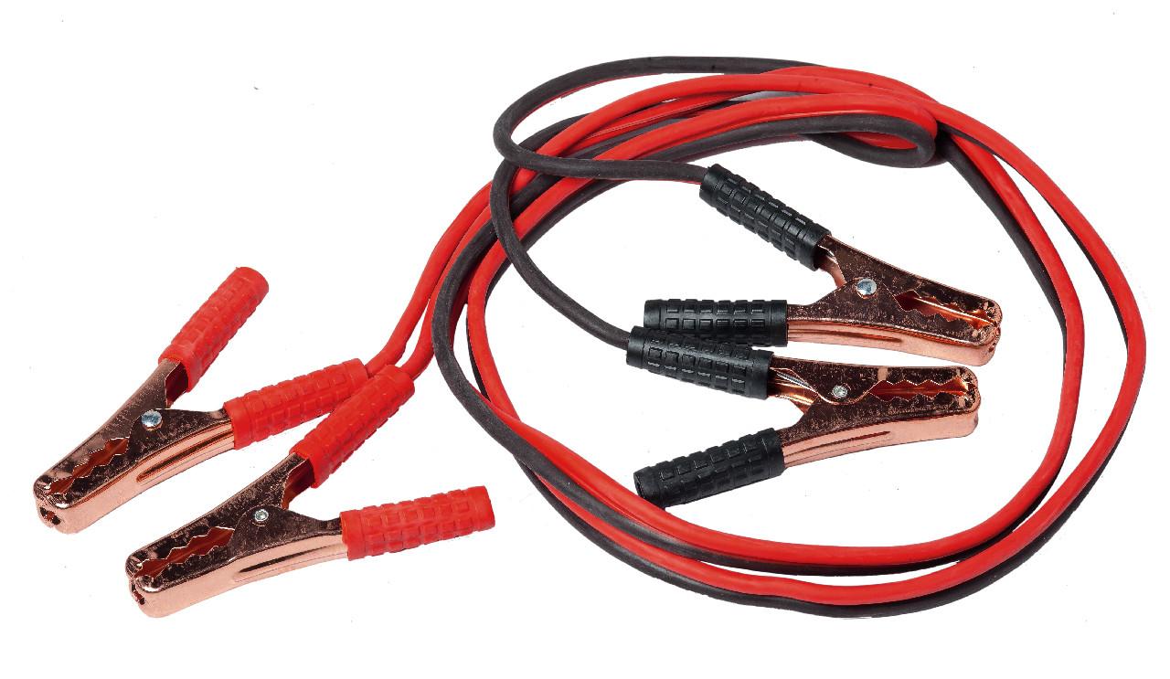 Прикурювач акумулятора (600 А) (кабель пусковий)