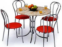 Стол для кафе СОНЯ хром (основание) Sonya chrome