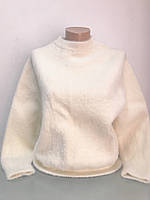 Свитер женский молочный ангора, фото 1