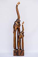 Статуэтка деревянная слон высота 100 см