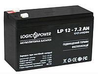 Аккумуляторная батарея LogicPower 12V - 7.2Ah LP 1272 свинцово-кислотный