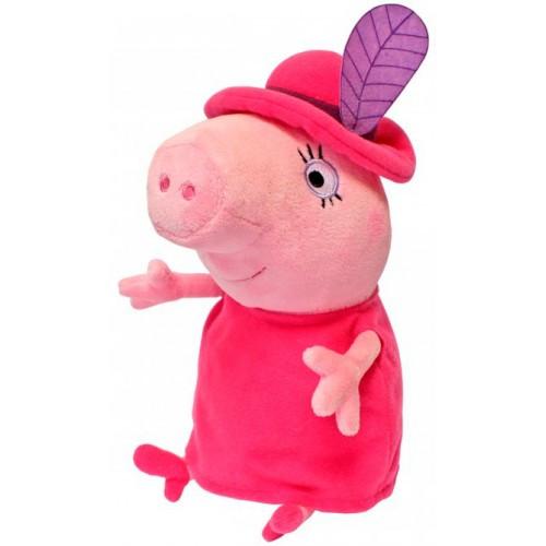 Мягкая игрушка Мама Свинка в шляпе 30 см Peppa 29625